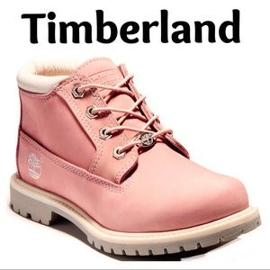 Timberland Nellie Pink Nubuck Boots waterproof 9.5